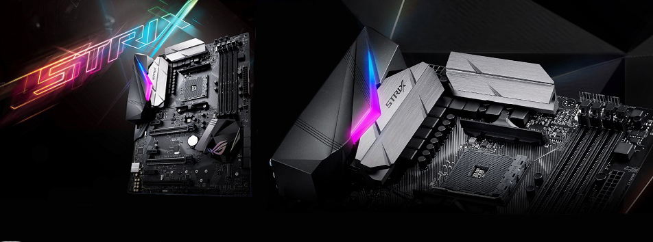 ASUS ROG STRIX X370-F GAMING Motherboard + AMD RYZEN 3 Desktop CPU