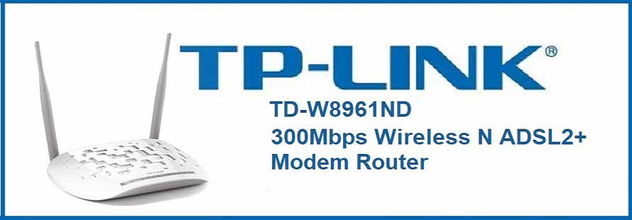 TP_LINK/مودم ADSL/TP-LINK TD-W8961ND Wireless N300 ADSL2+ Modem Router