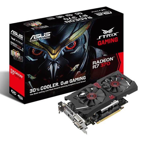 Graphic Card ASUS STRIX-R7370-GAMING