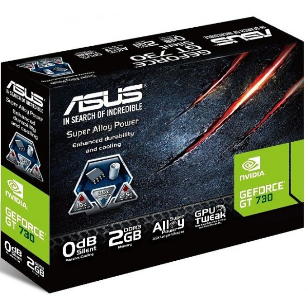 Graphic Card ASUS GT730-SL-2GD3-BRK