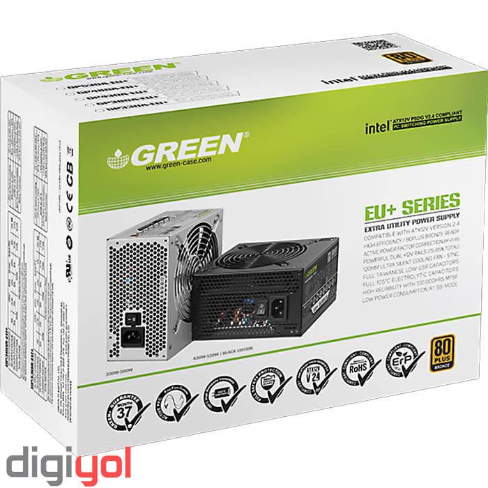 قطعات اصلی - Green GP-380A-EU+ 80 Plus Bronze Power Supply | Green GP-380A-EU+ 80 Plus Bronze Power Supply
