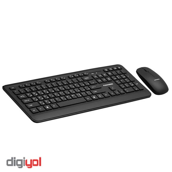 Farassoo FCM-5656 RF Wireless Keyboard and Mouse