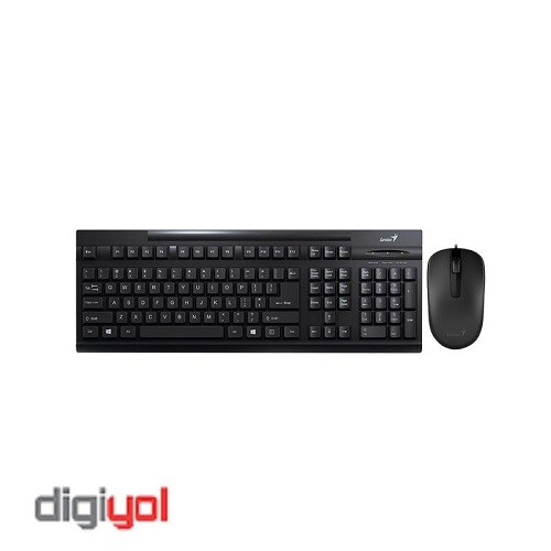 Genius KM-125 USB Keyboard and Mouse
