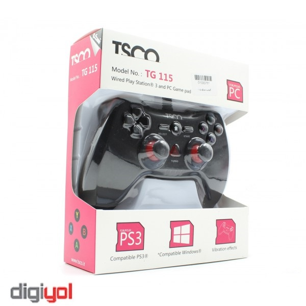 TSCO TG 115 Wired Game Pad