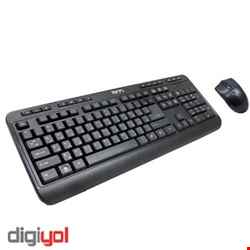 TSCO TKM 8052 Wired Keyboard and Mouse