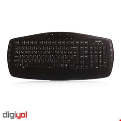 Farassoo FCR-6160 USB Internet and Multimedia Keyboard