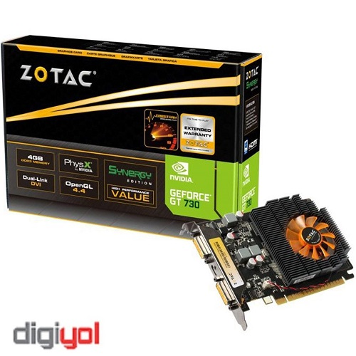 Zotac GT730 4GD3 SYNERGY Edition