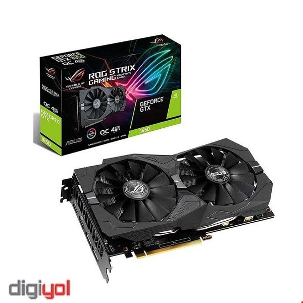 Asus ROG Strix GTX 1650 OC Gaming 4GB