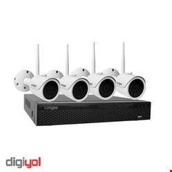 WIFI3604DE4SF200 2MP 4CH WIFI Kit Distance 300m Max.