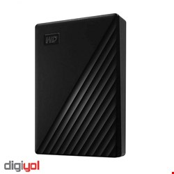 Western Digital WDBPKJ0040BBK-WESN My Passport 4TB External Hard Drive
